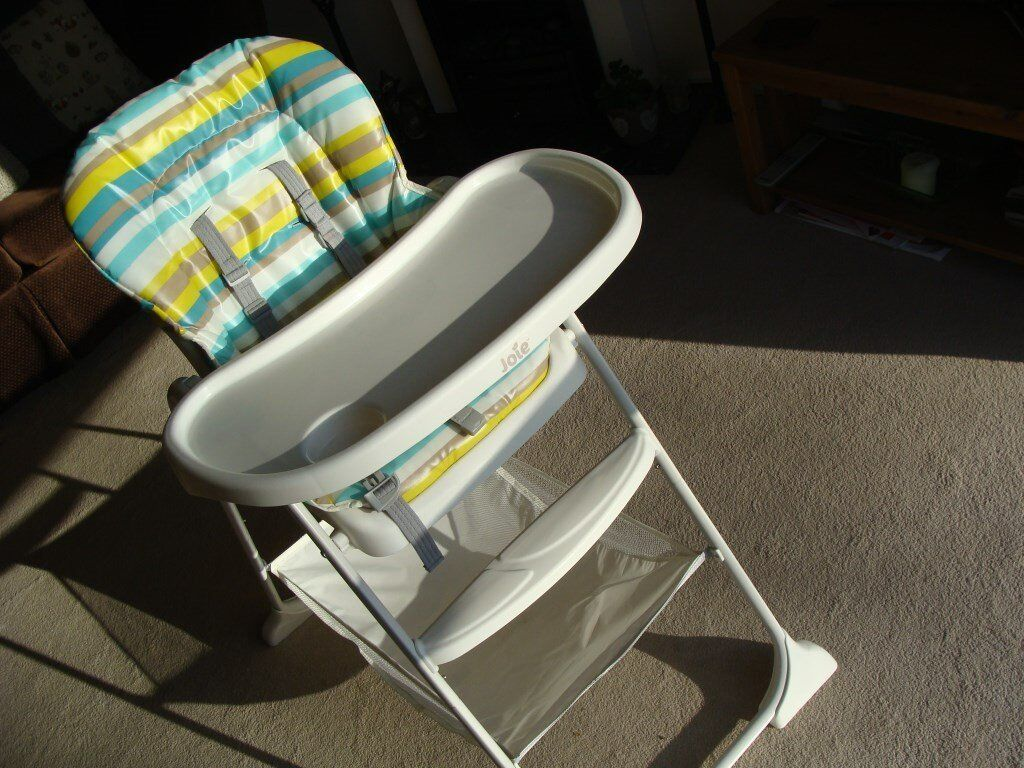 Highchair for baby or toddler by Joie