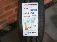 Tyre for a caravan or van - Nankang CW 25: 185R13C, 8ply