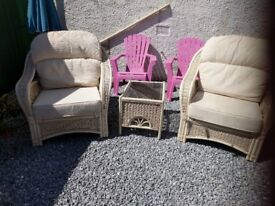 CONSERVATORY FURNITURE QUALITY WICKER