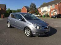 2008 VAUXHALL CORSA SXI 1.4 PETROL, 12 MONTH MOT, FULP SERVICE HISTORY, LOW MILEAGE, HPI CLEAR,