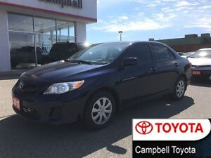 2013 Toyota Corolla CE UPGRADE--MOON ROOF--HEATED CLOTH--1 OWNER