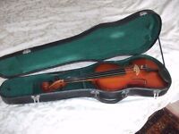 3/4 Chinese violin with case