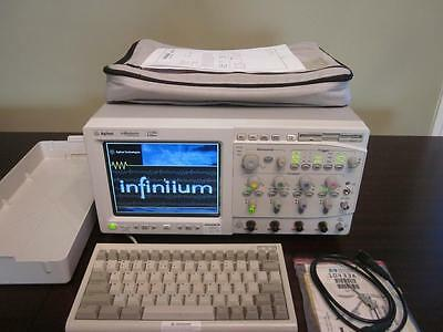 Agilent Hp 54845a 4 Channel 1.5 Ghz 8 Gsas Infiniium Digital Oscilloscope