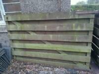 Gates wooden