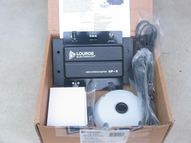 LOUROE Electronics ASK-4 Kit 300 LE-047 Audio Monitoring System