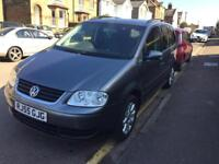 VW Touran 1.9tdi 2005 167K 7 seats
