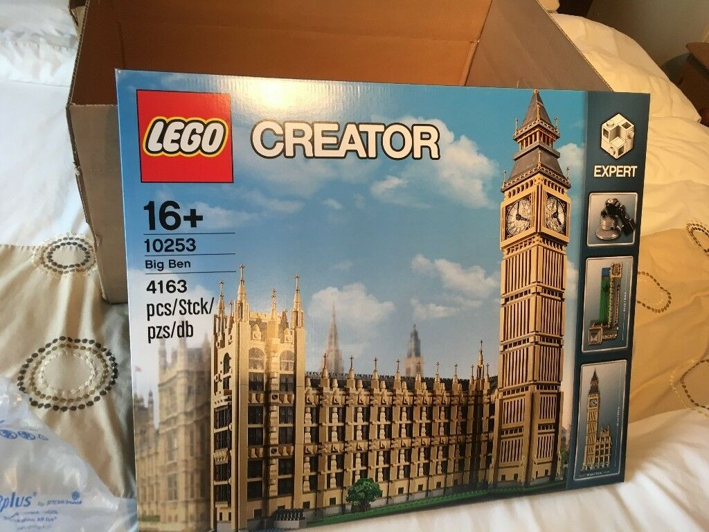 LEGO Creator Big Ben 10253, Brand New Factory Sealed Box, Hard to Find.4000+ pcs