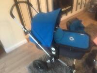 Bugaboo pram and accessories