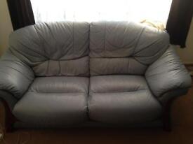 full leather 2 seater sofa