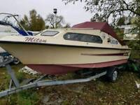 Shetland 570 boat outboard and trailer £3000 0NO