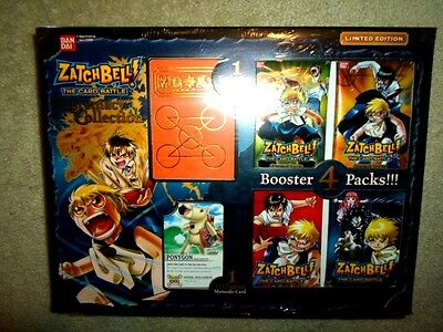 ZATCH BELL THE CARD BATTLE SUPREMACY COLLECTION TRADING CARD GAME TCG CCG SEALED