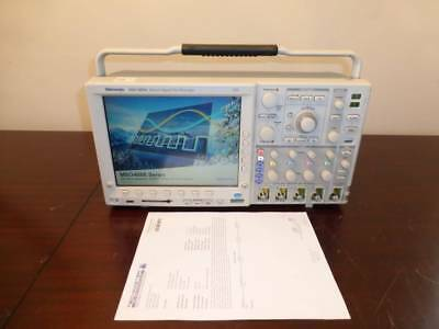 Tektronix Mso4054 500mhz 2.5gss 416 Channel Mixed Signal Oscilloscope - Cald