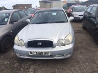 2002 Hyundai Sonata, 2.0 Petrol, Breaking for parts only, All parts available
