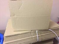 JOB LOT NEW CARDBOARD BOXES X 168