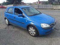 Vauxhall Corsa 1.4   2002   Just passed MOT