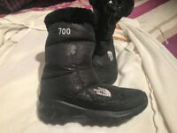 SNOW/WINTER BOOTS (NORTH FACE/ UGG/ TIMBERLAND. SIZES 4- 5.5