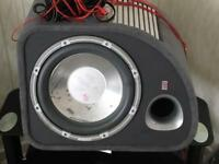 Fli Sub (Subwoofer) and built in Amp for sale
