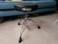 Mapex MXT561A Drum Stool - Seat - Like New - Adjustable