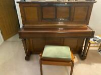 Upright piano for free on collection
