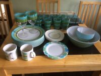 Outdoor/camping Crockery, plates. bowls. tumblers, mugs.
