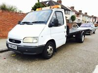 Recovery Van Ford Transit mercedes vauxhall fiat
