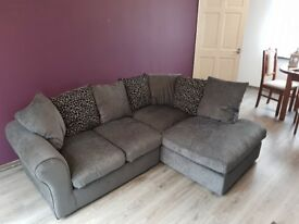 Corner Sofa almost brand new. Pristine condition (money back guarantee on that)