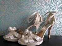 Dune Size 7 Bridal Shoes