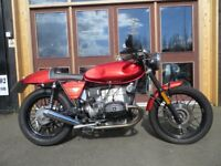 EVOLUTION MOTOR WORKS- Lurgan. 1984 BMW100RS Café Racer. This bike is in EXCELLENT condition