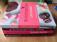 The Hummingbird large Bakery Hardback Books x 4 - In excellent condition