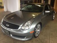 2007 Infiniti G35 Base w/Sport Package Rear-wheel Drive