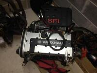 Early 20xe rebuilt red top vauxhall 2.0 16v engine c20xe