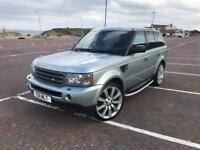 RANGE ROVER SPORT 2.7 DIESEL IN RARE ARTIC FROST SILVER.PRIVATE PLATE.3 KEYS.SWAP MERCEDES