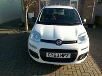 FIAT PANDA POP 63 REG, 39962 MILES, WHITE IN VERY GOOD CONDITION