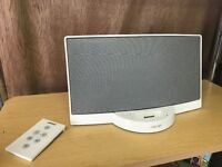 BOSE SOUND DOCK FOR IPHONE/IPOD 1ST GEN WHITE