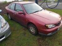 NISSAN PRIMERA 1.6 RARE LOW MILEAGE WARRANTED 38K, ( ANY OLD CAR PX WELCOME )