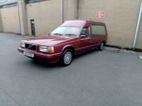 Volvo hearse