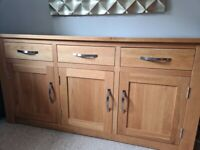 OAK SIDEBOARD FOR SALE- EXCELLENT CONDITION