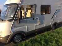 2004 Fiat Hymer B584 Motorcaravan - 31,000 miles - Excellent condition
