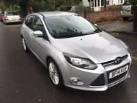 FORD FOCUS ZETEC 2014 1.0 EcoBoost START/STOP MINT CONDITION HPI CLEAR
