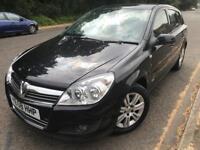 Vauxhall Astra 1.8 design 1.8 auto, sport, 2008, black, 5 doors, d/w, mot Nov 2018,