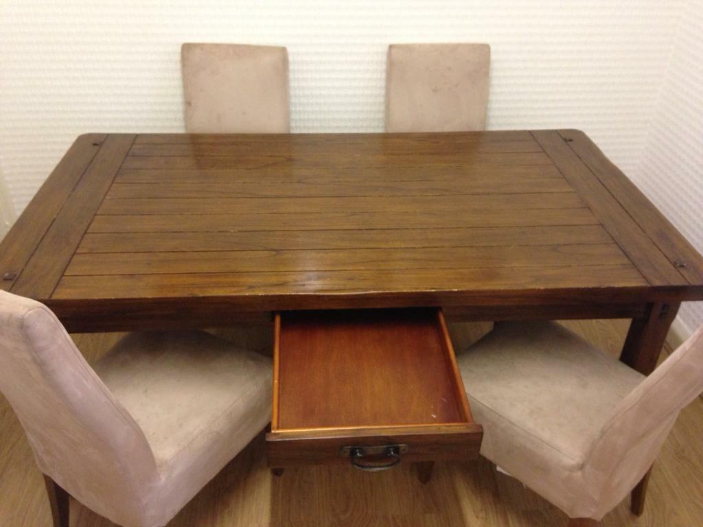 Barker and Stonehouse dining table and chairs | in ...