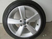 -- VOLKSWAGEN POLO R LINE ALLOYS + TYRES --