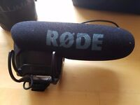 VideoMic Pro 180 Pounds RRP, LIKE NEW BARELY USED