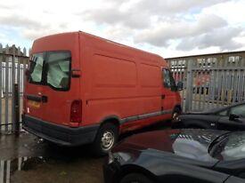 Vauxhall Movano Red Van