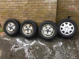Ford Transit Mk7 Wheels & Tyres 195/70/15
