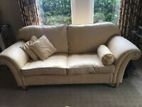 Beautiful Gold/Yellow Laura Ashley Sofa excellent condition