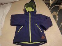 Windproof & Waterproof Boys Jacket - Age 4/5 years