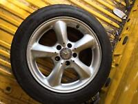 Mercedes Benz alloys 16 with tires