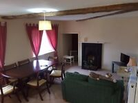1 bedroom, self contained, fully furnished flat in large country house
