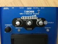 BOSS VE-1 Vocal Effects Pedal - Boxed